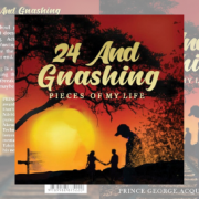 Book cover of 24 and Gnashing by Prince George Acquah Jnr