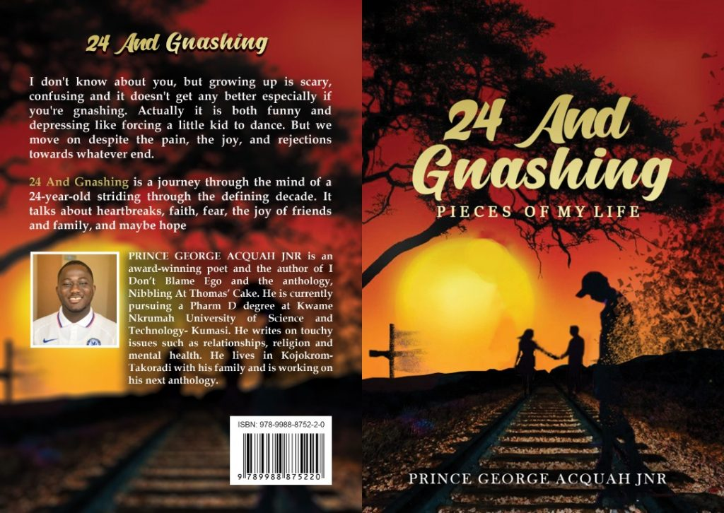 Paperback of 24 and Gnashing by Prince George Acquah Jnr24 and Gnashing by Prince George Acquah Jnr