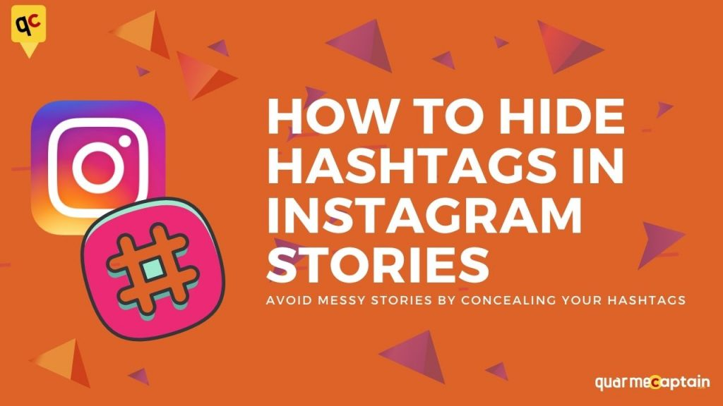 how to hide instagram hashtags