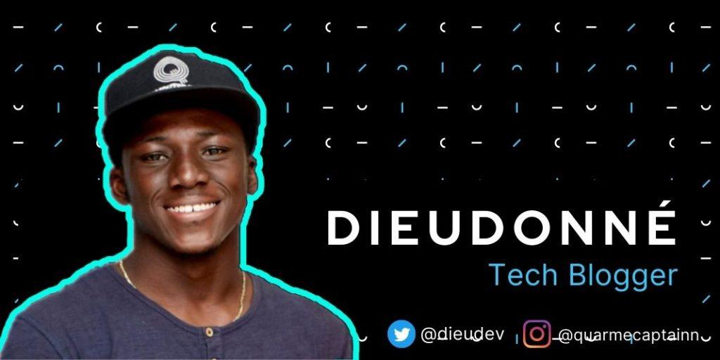 Dieudonne Daaduam on a poster